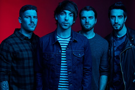 The Band All Time Low Group Shot