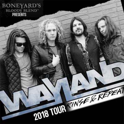 Wayland Rinse & Repeat 2018 Tour Promotional Image