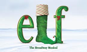 Elf The Broadway Musical Logo